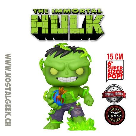 Funko Pop 15 cm Marvel Immortal Hulk (Glow in the Dark) Chase Exclusive Vinyl Figure