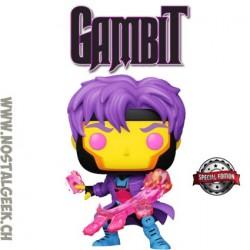 Funko Pop Marvel Gambit (Black Light) Exclusive Vinyl Figure