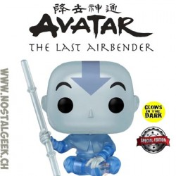 Funko Pop Avatar the last Airbender Aang (Spirit) GITD Exclusive Vinyl Figure