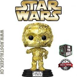 Funko Pop Star Wars C-3PO (Futura) Exclusive Vinyl Figure