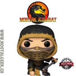 Funko Pop Games Mortal Kombat Scorpion (Metallic) Exclusive Vinyl Figure