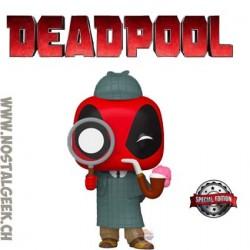 Funko Pop Marvel Sherlock Deadpool Exclusive Vinyl Figure