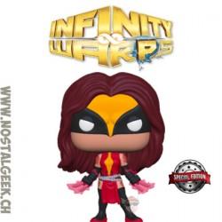Funko Pop Marvel Infinity Warps Weapon Hex Exclusive Vinyl Figure