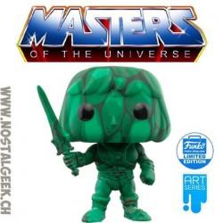 Funko Pop Masters of the Universe He-Man (Art Series) + hard acrylic Pop protector Exclusive Vinyl Figure