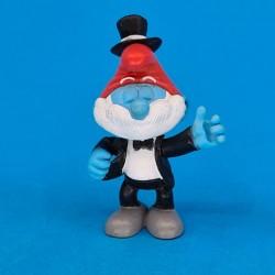 The Smurfs - Papa smurf tuxedo second hand Figure (Loose)