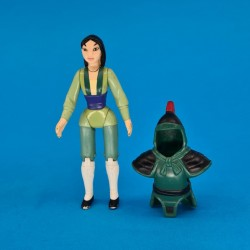 Disney Mulan with armor second hand figure (Loose)