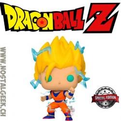 Funko Pop Dragonball Z Super Saiyan Goku with energey Êxclusive Vinyl Figure