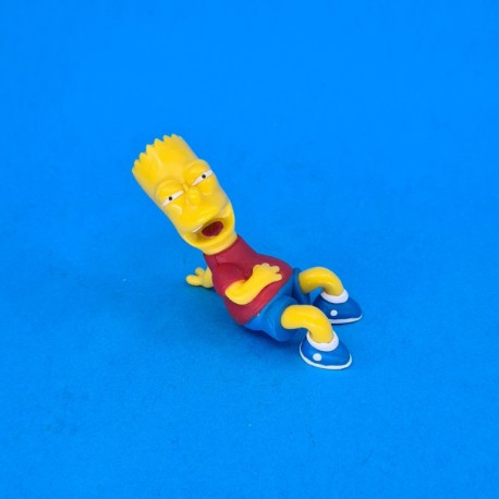 The Simpsons Bart Simpson laughing second hand figure (Loose)