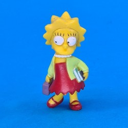 The Simpsons Lisa Simpson with books second hand figure (Loose)