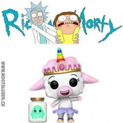 Funko Pop SDCC 2017 Rick and Morty Tinkles with Ghost in a jar Exclusive Vinyl Figure