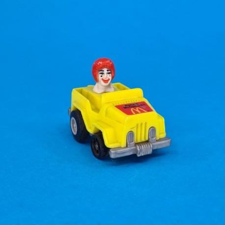 McDonald's Ronald McDonald in jeep second hand figure (Loose)