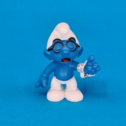 The Smurfs Brainy second hand Figure (Loose)