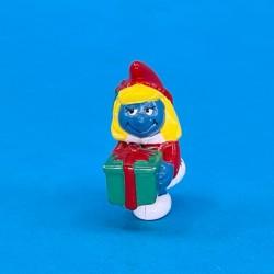 The Smurfs Smurfette Christmas second hand Figure (Loose)