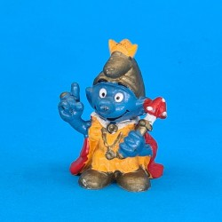The Smurfs King Smurf second hand Figure (Loose)