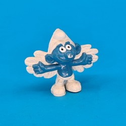 The Smurfs- Smurf Angel second hand Figure (Loose)