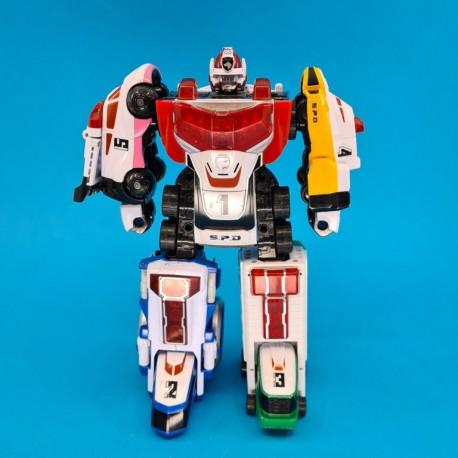 Power Rangers SPD Robot DX Megazord Delta Squad second hand action figure (Loose)