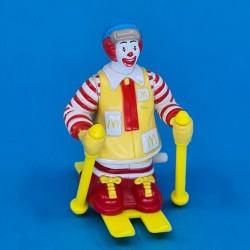 McDonald's Ronald McDonald ski second hand figure (Loose)