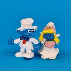 The Smurfs- Smurfs Wedding second hand Figure (Loose)