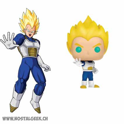 Toy Funko Pop Animation Dragonball Z Super Saiyan Vegeta Exclusive
