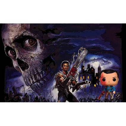 681553d9e90 Toy Funko Pop! TV Ash Vs. Evil Dead Bloody Ash Vinyl Figure geek su...