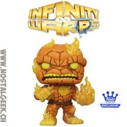 Funko Pop Marvel Infinity Warps Hot Rocks Exclusive Vinyl Figure