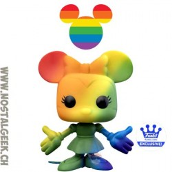 Funko Pop Disney Minnie Mouse (Rainbow) Exclusive Vinyl Figure