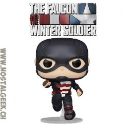 Funko Pop Marvel The Falcon and The Winter Soldier US Agent Vinyl Figure