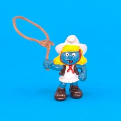 The Smurfs Smurfette Cowgirl second hand Figure (Loose)