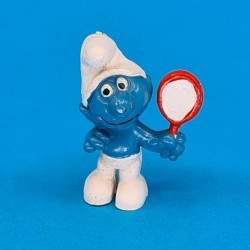 The Smurfs- Smurf with mirror second hand Figure (Loose)