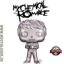 Funko Pop Rocks My Chemical Romance Skeleton Gerard Way (Platinum) Exclusive Vinyl Figure