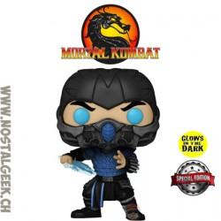 Funko Pop Games Mortal Kombat Sub-Zero (Glow In The Dark) Exclusive Vinyl Figure