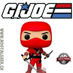 Funko Pop Retro Toys G.I. Joe Cobra Red Ninja Exclusive vinyl figure