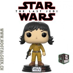 Funko Pop Star Wars The Last Jedi Rose Vaulted Vinyl Figure