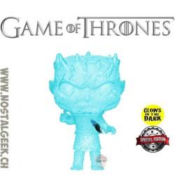 Funko Pop Game of Thrones Night King (Crystal) GITD Exclusive Vinyl Figure