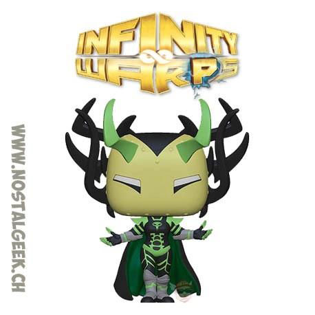 Funko Pop Marvel Infinity Warps Madame Hel Vinyl Figure