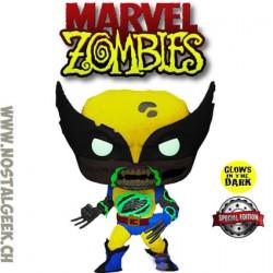 Funko Pop Marvel Zombie Wolverine GITD Exclusive Vinyl Figure