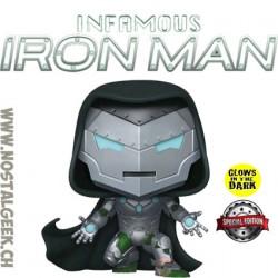 Funko Pop Marvel Infamous Iron Man Phosphorescent Edition Limitée