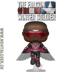 Funko Pop Marvel The Falcon and The Winter Soldier Flying Falcon Vinyl Figure