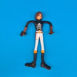 Captain Harlock second hand bendable figure (Loose)