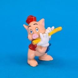 Les 3 petits cochons- Cochon avec flûte Figurine d'occasion (Loose)