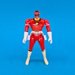 Power Rangers Red Ranger Flip Head Figurine articulée d'occasion (Loose)