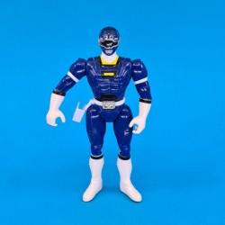 Power Rangers Blue Ranger Flip Head Figurine articulée d'occasion (Loose)