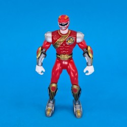 Power Rangers Wild Force Red Ranger Figurine articulée d'occasion (Loose)