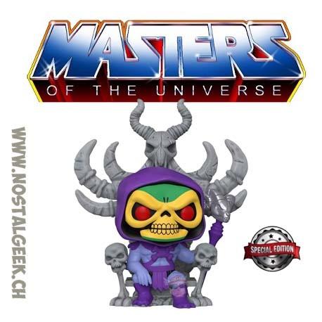 Funko Pop 15 cm Masters of the Universe Skeletor On Throne Exclusive Vinyl Figure