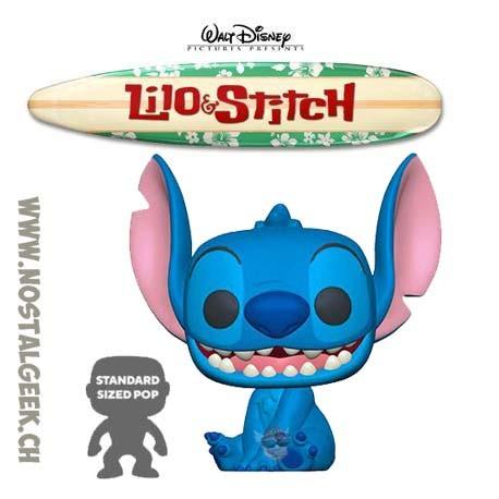 Funko Pop 25 cm Disney Lilo et Stitch Smiling Seated Stitch Vinyl Figure