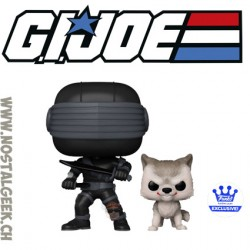 Funko Pop Retro Toys G.I. Joe Snake Eyes with Timber Exclusive vinyl figure