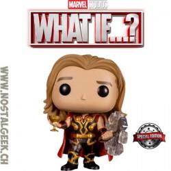 Funko Pop Marvel: What if...? Party Thor Exclusive Vinyl Figure