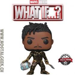 Funko Pop Marvel: What if...? King Killmonger Exclusive Vinyl Figure