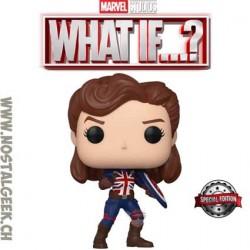 Funko Pop Marvel: What if...? Captain Carter Exclusive Vinyl Figure