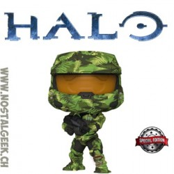 Funko Pop Pop Games Halo Master Chief with MA40 Assault Rifle in Hydro Deco Exclusive Vinyl Figure